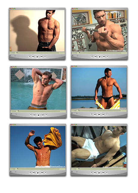 Male Model videos screen shots