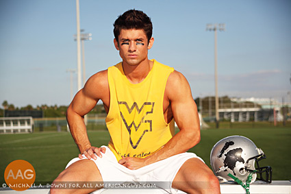 Male Model football player